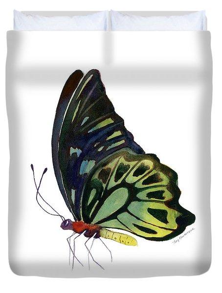 97 Perched Kuranda Butterfly Duvet Cover by Amy Kirkpatrick