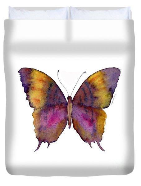 99 Marcella Daggerwing Butterfly Duvet Cover by Amy Kirkpatrick