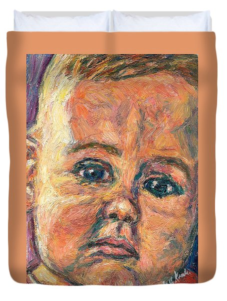 A Beginning Duvet Cover by Kendall Kessler