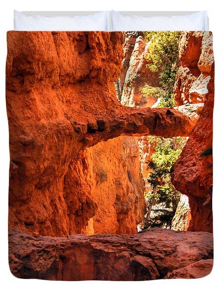 A Bridge Duvet Cover by Robert Bales