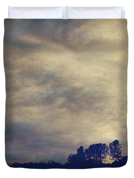 A Calm Sets In Duvet Cover by Laurie Search