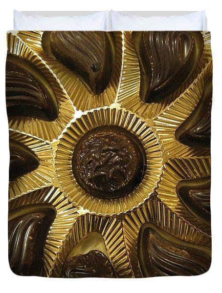 A Chocolate Sun Duvet Cover by Ausra Paulauskaite