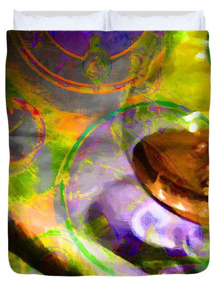 A Cognac Night 20130815p28 Duvet Cover by Wingsdomain Art and Photography
