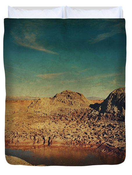 A Far Off Place Duvet Cover by Laurie Search