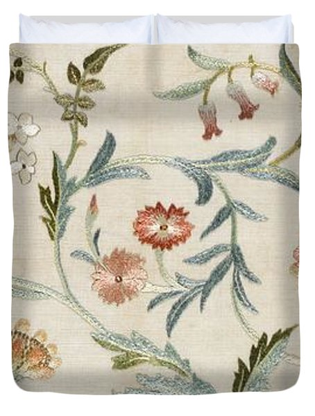 A Garden Piece Duvet Cover by May Morris