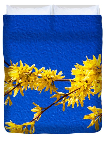 A Golden Afternoon Duvet Cover by Omaste Witkowski