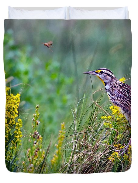 A Golden Opportunity Duvet Cover by Gary Holmes