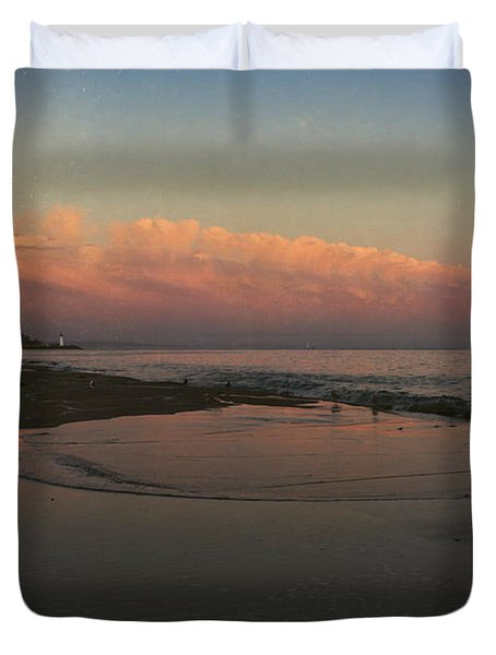 A Little Bit of Peace Duvet Cover by Laurie Search