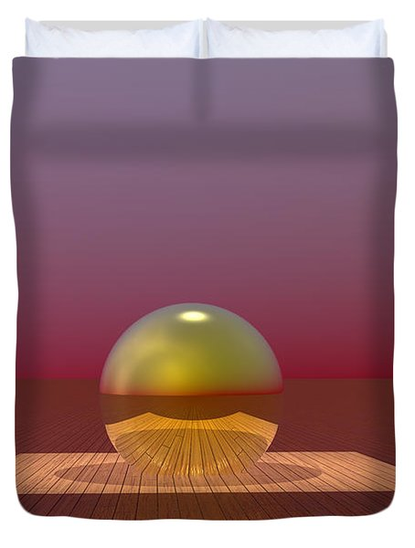 A Lozenge For The Soul Duvet Cover by Barbara Milton