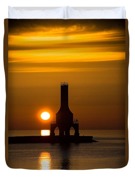 A New Day Duvet Cover by James  Meyer