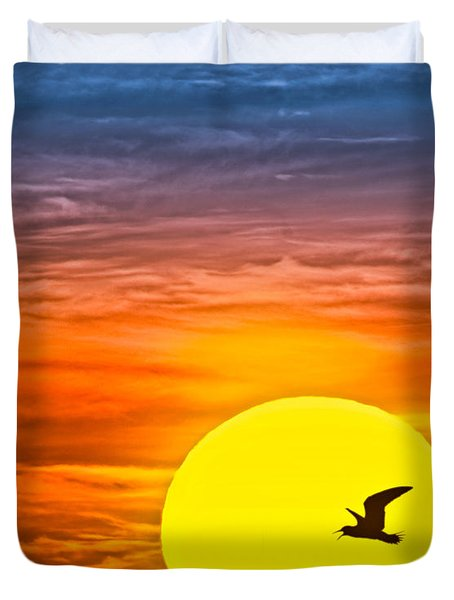 A New Day Duvet Cover by Susan Candelario