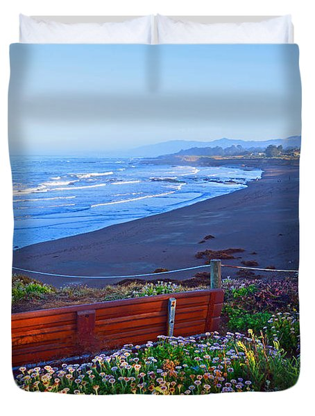 A Place To Reflect Duvet Cover by Lynn Bauer