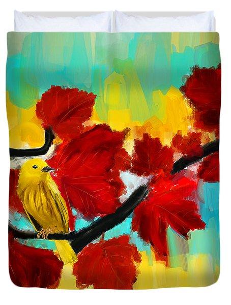 A Ponder Duvet Cover by Lourry Legarde