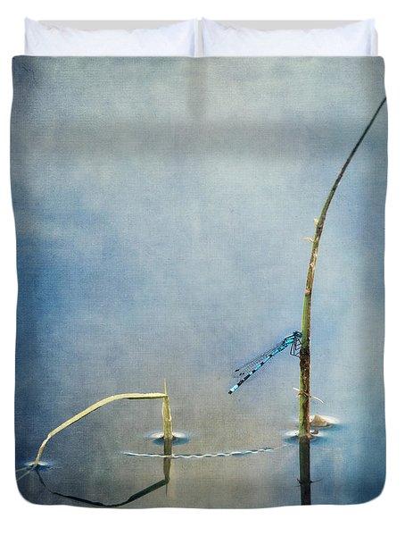 a quiet moment Duvet Cover by Priska Wettstein