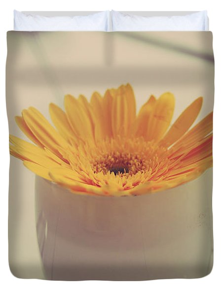 A Simple Thing Duvet Cover by Laurie Search