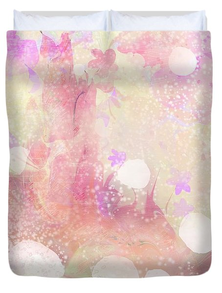 A Sparrow Sings Alone Duvet Cover by Rachel Christine Nowicki