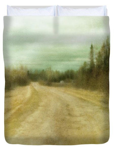 A Textured Pictorialist Photograph Of A Duvet Cover by Roberta Murray