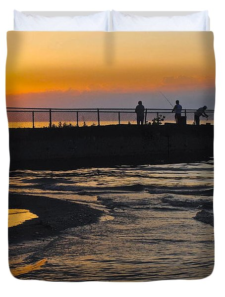 A Time to Reflect Duvet Cover by Frozen in Time Fine Art Photography
