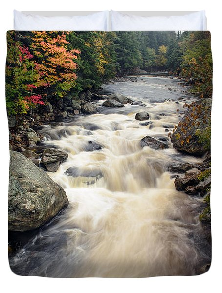 A Touch Of Fall Duvet Cover by Mark Papke