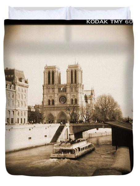 A Walk Through Paris 22 Duvet Cover by Mike McGlothlen