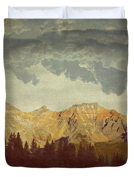 A World Of It's Own Duvet Cover by Brett Pfister