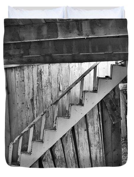 Abandoned Duvet Cover by Brady Lane