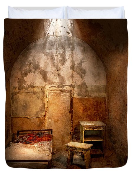 Abandoned - Eastern State Penitentiary - Life Sentence Duvet Cover by Mike Savad