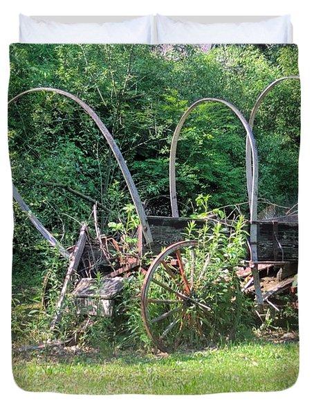 Abandoned Duvet Cover by Gordon Elwell
