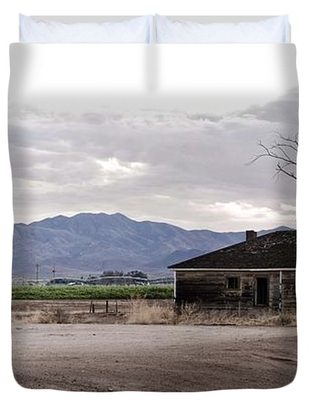 Abandoned House Duvet Cover by Swift Family