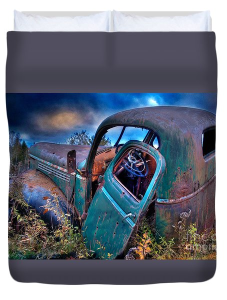 Abandoned II Duvet Cover by Alana Ranney