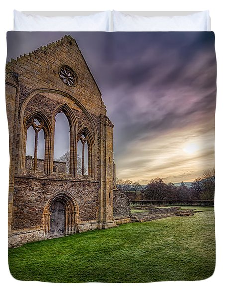 Abbey Ruins Duvet Cover by Adrian Evans