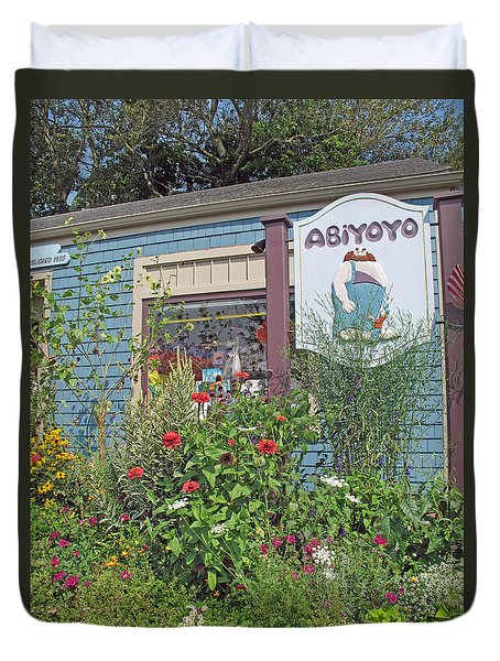 ABiYOYO Duvet Cover by Barbara McDevitt
