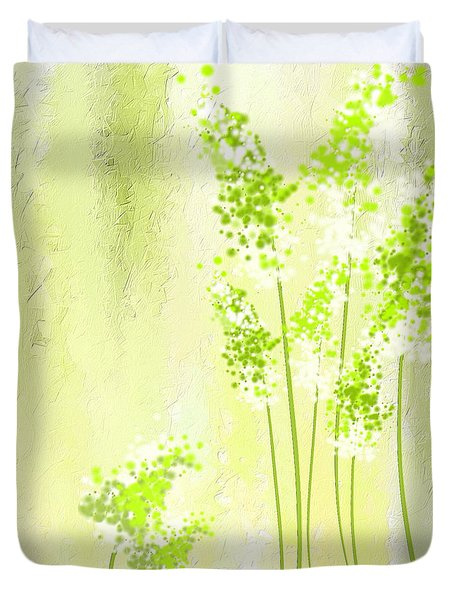 About Spring Duvet Cover by Lourry Legarde