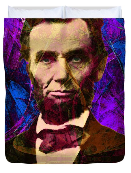 Abraham Lincoln 2014020502m118 Duvet Cover by Wingsdomain Art and Photography