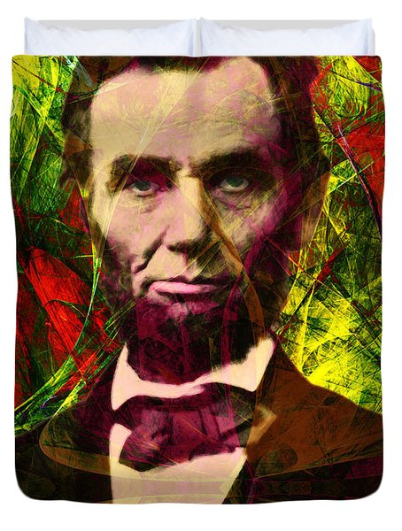 Abraham Lincoln 2014020502p28 Duvet Cover by Wingsdomain Art and Photography