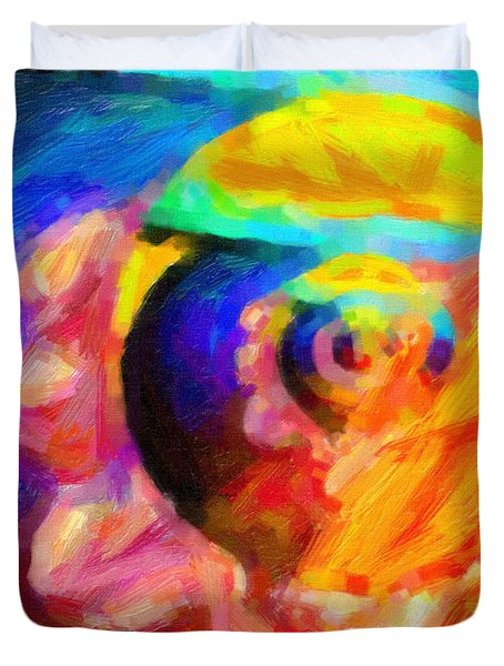 Abstract 18 Duvet Cover by Kenny Francis