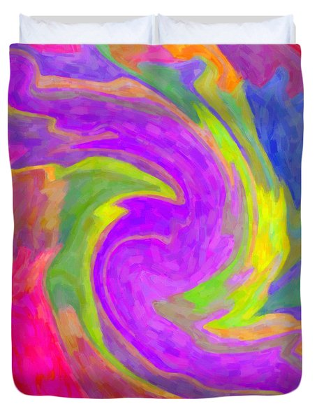 Abstract 44 Duvet Cover by Kenny Francis
