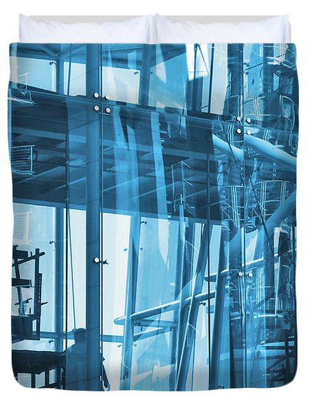 Abstract Architecture Duvet Cover by Carlos Caetano