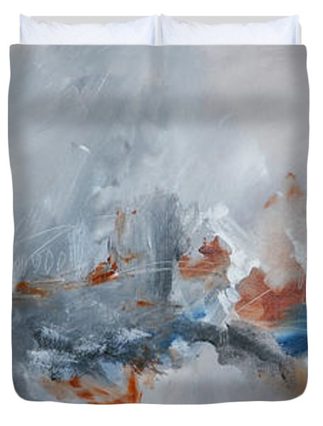 Abstract Expressionist Painting Prints Duvet Cover by Andrada Anghel
