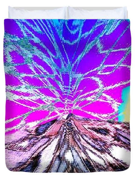 Abstract Fusion 196 Duvet Cover by Will Borden