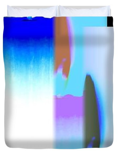 Abstract Fusion 220 Duvet Cover by Will Borden