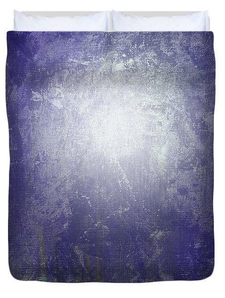 Abstract  Moonlight Duvet Cover by Filippo B