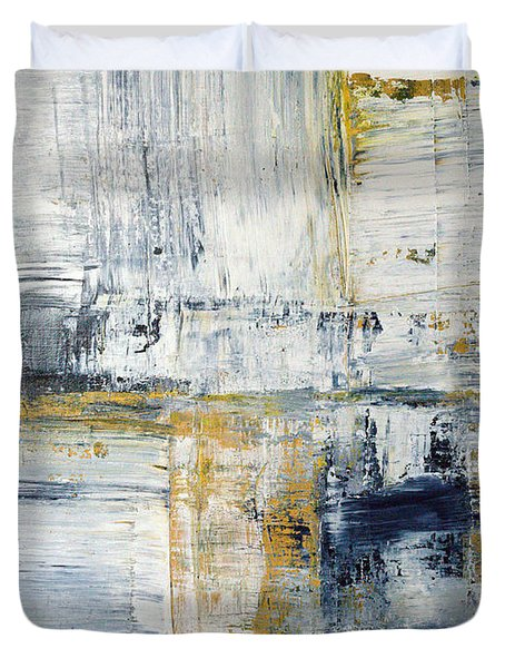 Abstract Painting No. 2 Duvet Cover by Julie Niemela