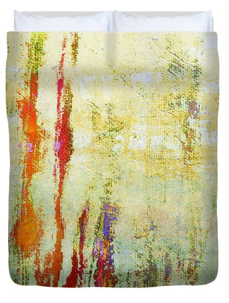 Abstract Print 17 Duvet Cover by Filippo B