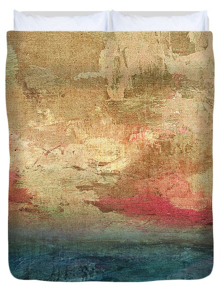 Abstract Print 3 Duvet Cover by Filippo B