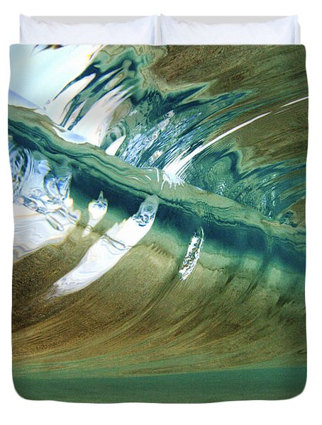 Abstract Underwater 2 Duvet Cover by Vince Cavataio - Printscapes