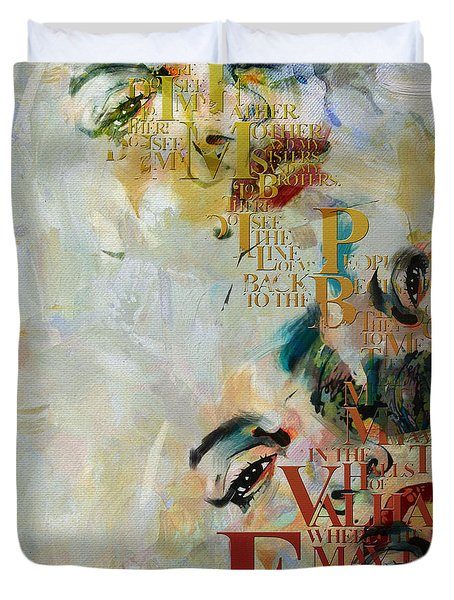 Abstract Women 018 Duvet Cover by Corporate Art Task Force
