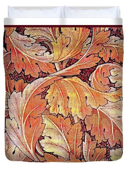 Acanthus Vine Design Duvet Cover by William Morris
