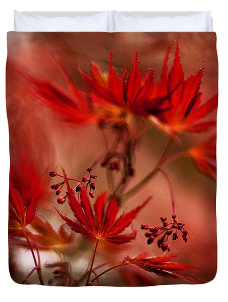Acer Storm Duvet Cover by Mike Reid