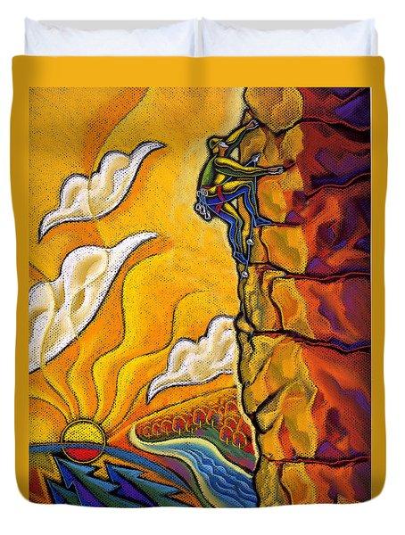 Achievement Duvet Cover by Leon Zernitsky